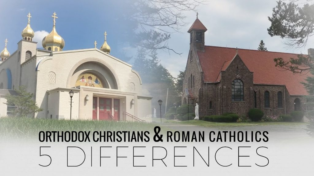Fr. Andrew Stephen Damick lists 5 differences between the Roman Catholic Church and the Eastern Orthodox Church